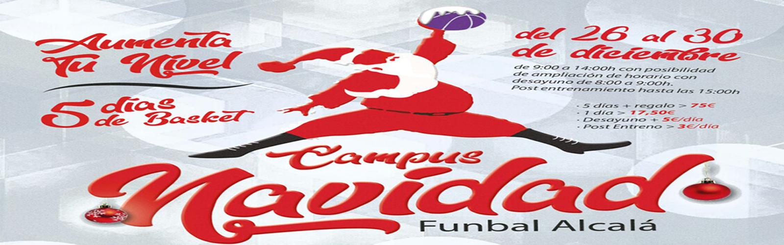 CAMPUS NAVIDAD '17 FUNBAL ALCALÁ